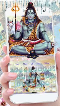 Lord Shiva Keyboard Theme🔱 screenshot 1