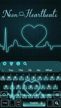 b01436a8ba1 Neon Heartbeat LIVE Keyboard Theme for Android - APK Download