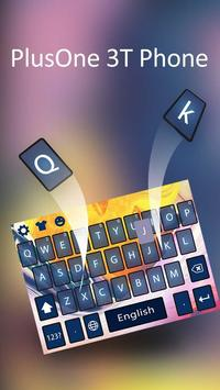 Keyboard for Plus Only 3T apk screenshot