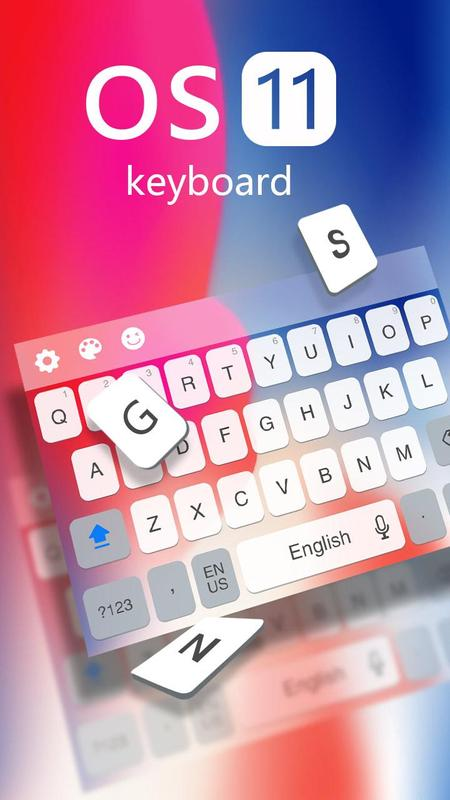 Keyboard for Os11 apk screenshot