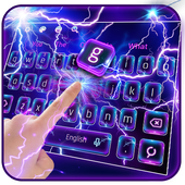 Lighting Electric Screen keyboard icon
