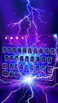 Lighting Electric Screen keyboard poster