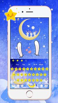 Moon Rabbit Keyboard screenshot 1