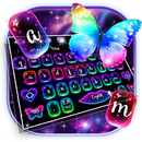 Neon Colorful Butterfly Keyboard APK