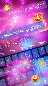 Fireworks Keyboard poster