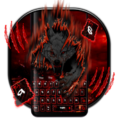 Night Blood Wolf Theme Keyboard icon