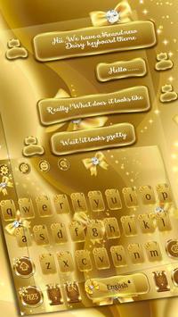 SMS Gold Bow Keyboard screenshot 1