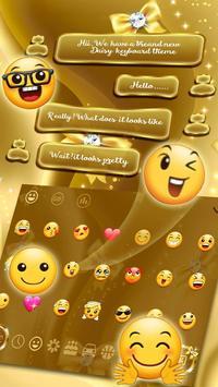 SMS Gold Bow Keyboard screenshot 2
