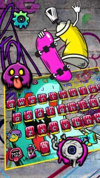 Skateboard Graffiti poster