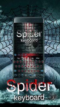 Blood Spider Keyboard poster