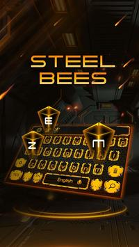 Steel bee keyboard apk screenshot