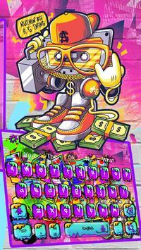 Street Graffiti Keyboard Theme screenshot 2