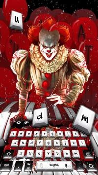 Poster Clown Piano Keyboard