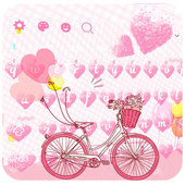 Pink Love Keyboard Theme icon