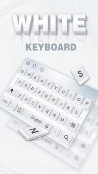 Pure white keyboard screenshot 1