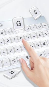 Pure white keyboard screenshot 2