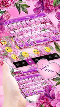 Diamond Flower Keyboard screenshot 2