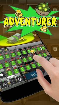 Adventurer Keyboard Theme poster