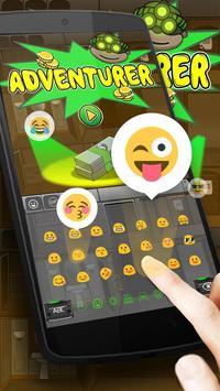 Adventurer Keyboard Theme apk screenshot