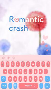 Romantic crash Keyboard poster