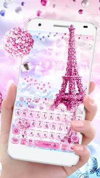 Romantic  Love Keyboard Theme Affiche