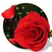 3D Red Rose icon