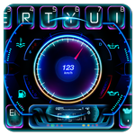 Racing Car Hologram Keyboard APK