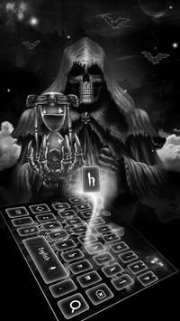 Reaper Hourglass Keyboard Theme poster