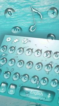 Water Keyboard Theme screenshot 1