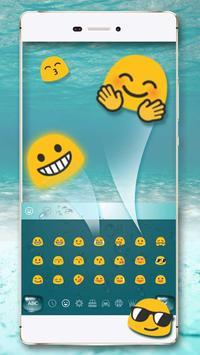 Water Keyboard Theme screenshot 2