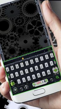 green geek machine keyboard poster