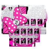 Twinkle Minny Bowknot Keyboard Theme icon