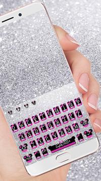 Twinkle Minny Bowknot Keyboard Theme poster