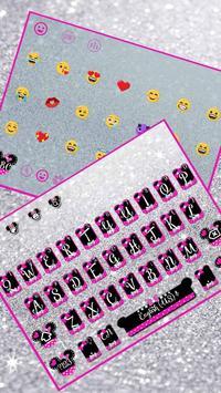 Twinkle Minny Bowknot Keyboard Theme screenshot 1