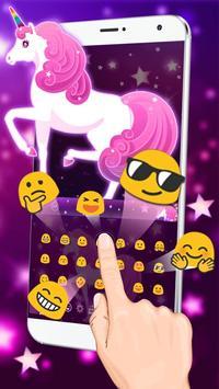 Galaxy Unicorn Keyboard screenshot 2