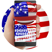 USA Flag Keyboard icon