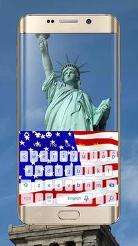 USA Flag Keyboard screenshot 2