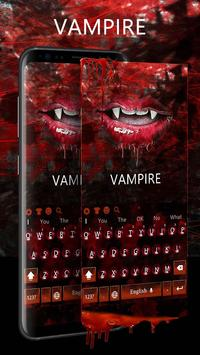 Vampire Lips Keyboard poster