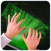 Simulator 3D Keyboard Hologram icon
