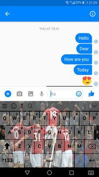 Keyboard For Manchester United 2018 screenshot 6