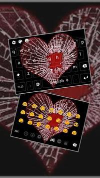 Distress Lovestruck Heart poster