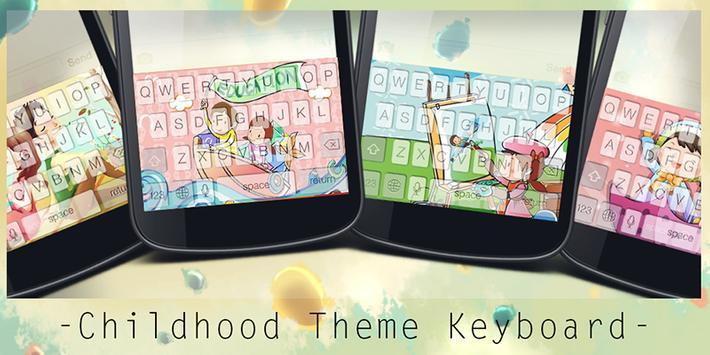 Childhood Theme Keyboard poster