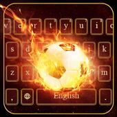 Football Fire Keyboard icon