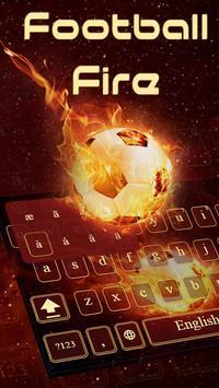Football Fire Keyboard apk screenshot