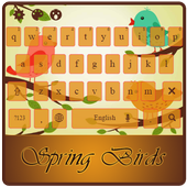 Kawaii Spring Birds icon