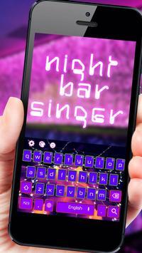 Night Neon Light Bar poster