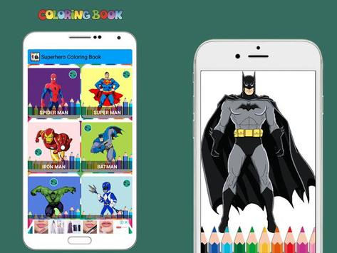 New Coloring Superhero for Kids screenshot 4