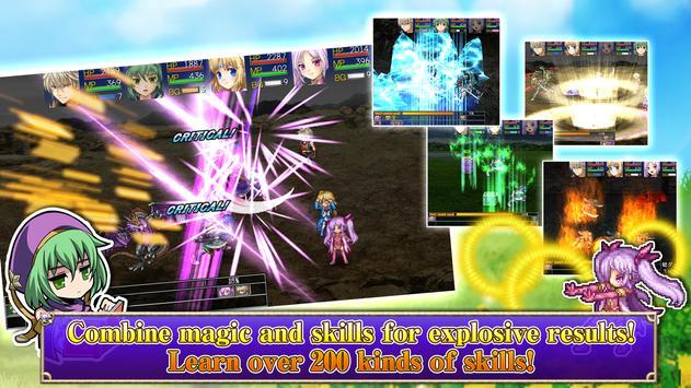 RPG Asdivine Cross apk screenshot