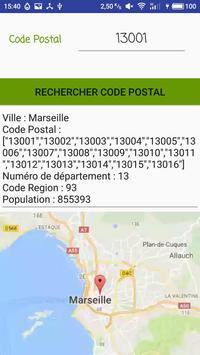 Code Postal screenshot 4