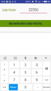 Code Postal screenshot 1
